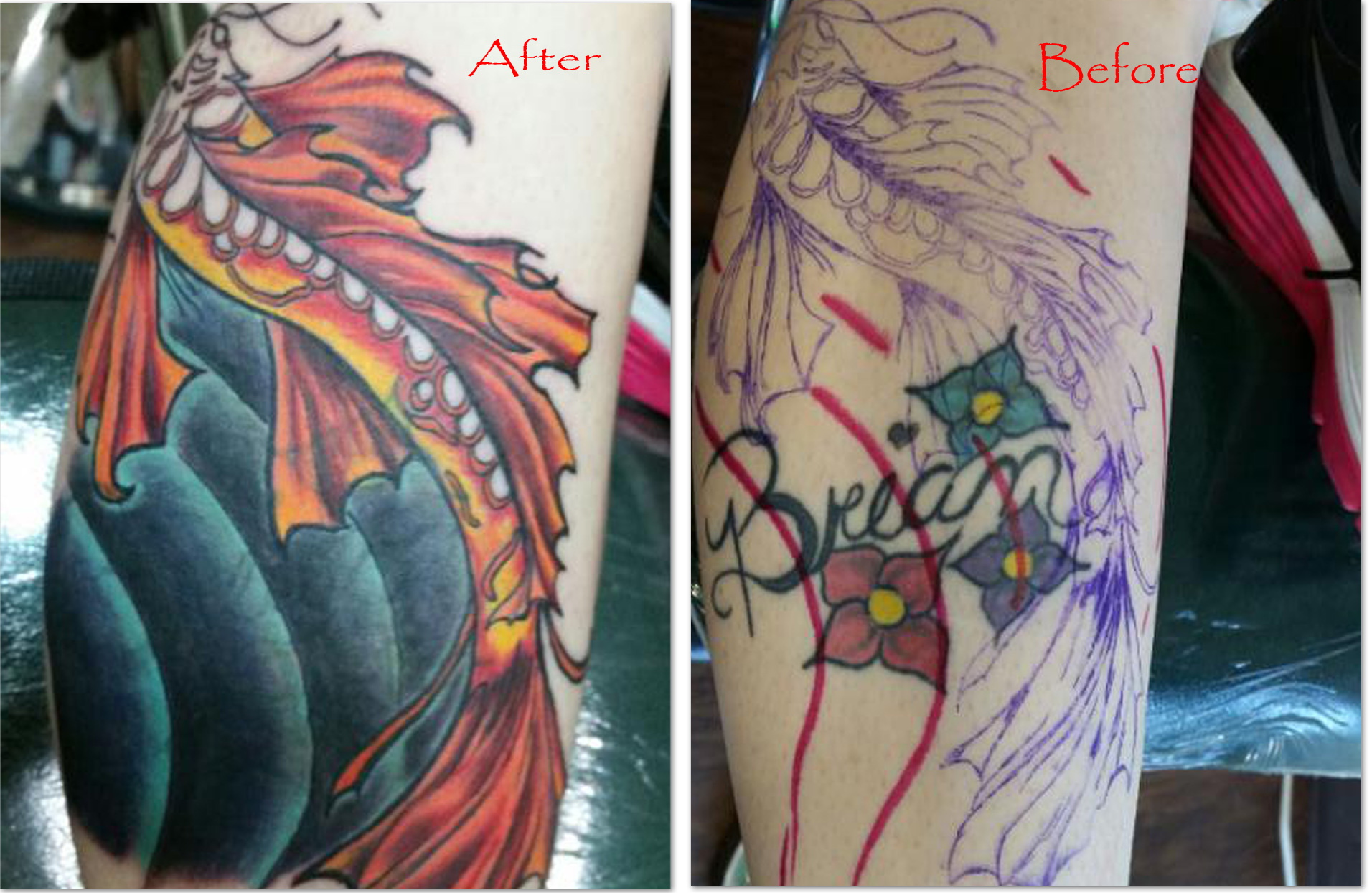 Cover Up Colage